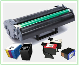 Examples of Printer Ink & Toner Cartridges to be Recycled